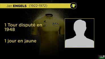 Ces Belges qui ont porté le maillot jaune: Jan Engels