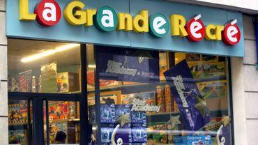 """Tous les magasins """"La grande Récré"""" en Belgique seront fermés dès ce mercredi."""