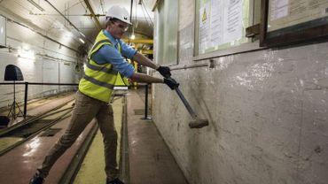 L'historien et chroniqueur TV Dan Snow a lancé dans le centre de Londres la construction du Musée de la poste
