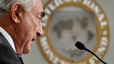 Le directeur général du Fonds monétaire international Dominique Strauss-Kahn le 10 février 2011 à Washington
