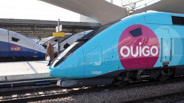 Les Ouigo, TGV low-cost de la SNCF, partiront de la gare Montparnasse pour Rennes, Nantes et Bordeaux à partir du 10 décembre.