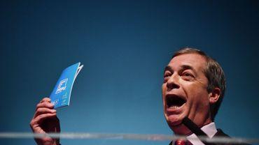 Nigel Farage le 22 novembre 2019 à Londres
