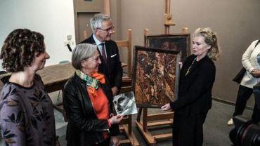 Gand: deux peintures remises à leur propriétaire 78 ans plus tard