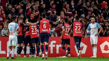"""Marseille coule à Lille, le """"derby"""" du Languedoc marqué par les incidents"""