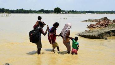 Vingt-quatre millions de personnes menacées par les inondations en Asie