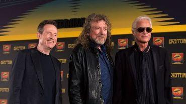 Led Zeppelin : John Paul Jones, Robert Plant et Jimmy Page