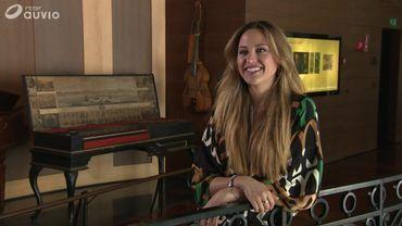 Rocío Pérez au Musée des Instruments de musique
