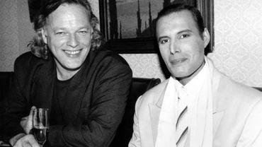 La photo du jour: David Gilmour et Freddie Mercury