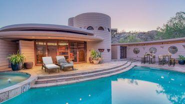 "La ""Circular Sun House"" de Frank Lloyd Wright."
