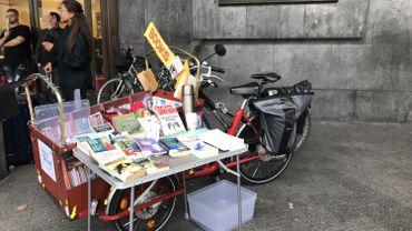 Bruxelles: Quand le livre est un moyen de parler à l'homme ou la femme derrière le sans-abri