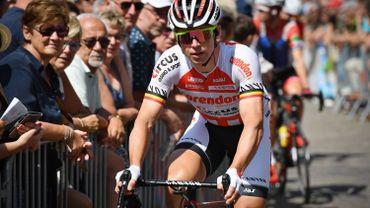 Stijn Devolder, ancien double vainqueur du Ronde, pend son vélo au clou