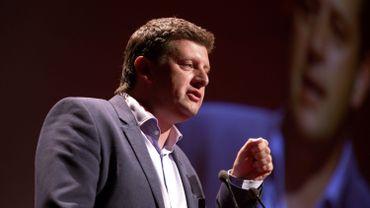 John Crombez, président du sp.a