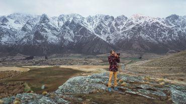 Johan Lolos en Nouvelle-Zélande