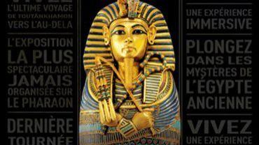 """L'exposition """"Toutânkhamon, le Trésor du Pharaon"""" à Paris a déjà accueilli plus de 1,3 million de visiteurs depuis son ouverture le 23 mars."""