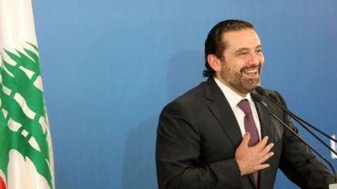 Le Premier ministre libanais Saad Hariri reconduit à son poste