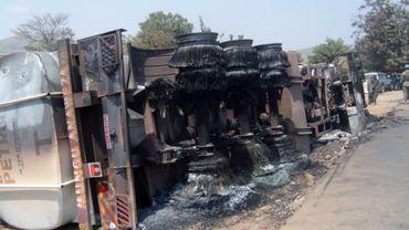 Illustration - Collision avec un camion-citerne en RDC: au moins 60 morts et des dizaines de brûlés