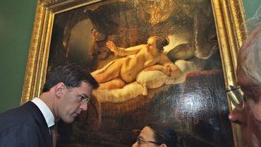 """Danae"" une oeuvre de Rembrandt"