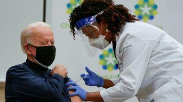 Le président élu américain Joe Biden a reçu sa première dose du vaccin contre le Covid-19 le 21 décembre 2020