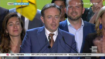 Bart De Wever : « Les nationalistes flamands ont gagné »
