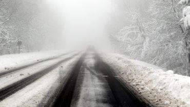 route interdite dans les Hautes Fagnes ce week-end