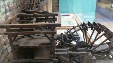 Maquette de la machine de Modave de Renkin Sualem 1645-1708
