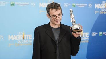 Lucas Belvaux lors de la soirée de remise des Magritte du cinéma, en février 2013