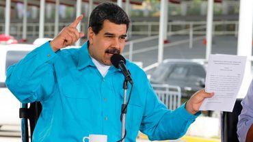 Le président du Venezuela Nicolás Maduro