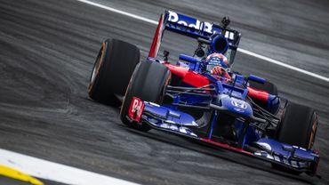 Marc Marquez dans la Toro Rosso