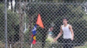Des enfants réfugiés en détention en Australie
