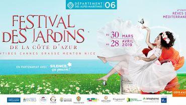 Les jardins éphémères du Festival des Jardins de la Côte d'Azur