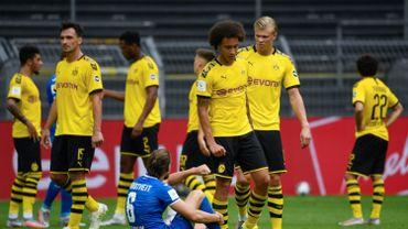 Nette défaite de Dortmund contre Hoffenheim, Witsel furieux.