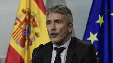 Le ministre espagnol de l'Intérieur Fernando Grande-Marlaska
