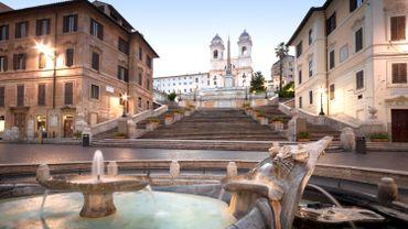 Trinité des Monts, Rome.