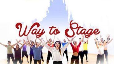 Les élèves de Way to Stage en show à Disneyland Paris