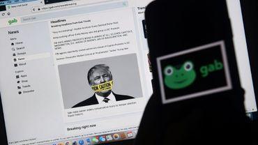 Le réseau social Gab ne cache pas ses affinités avec Donald Trump et la mouvance QAnon