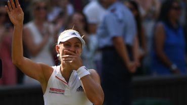Kerber, lauréate à Wimbledon, revient 4e à la WTA, Van Uytvanck gagne 7 places