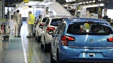 Usine du groupe PSA Peugeot-Citroen