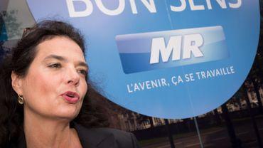 La cheffe de groupe MR au conseil communal de Liège, Christine Defraigne.