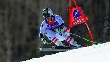 Le vétéran autrichien Reichelt décroche le dernier Super G à Aspen