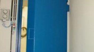 Une porte anti-radiation fabriquée chez Vanderplanck