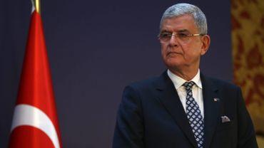 Le ministre turc aux Affaires européennes Volkan Bozkir