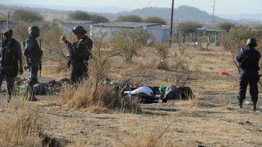 Afrique du Sud: la police tente de disperser les grévistes de Marikana par la force