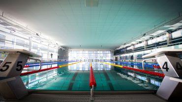 La piscine de Molenbeek, qui accueille de nouveau des petits élèves depuis début 2016, après un an et demi de travaux