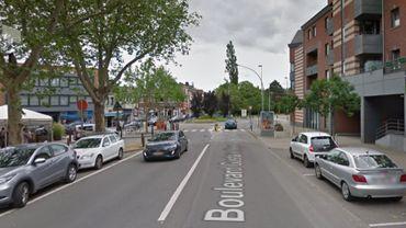 L'accident de la circulation s'est produit sur le boulevard Kleyer à Liège (illustration).