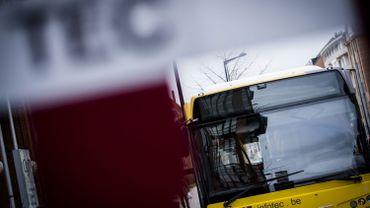 Journée nationale d'action: aucun bus ne roule à Charleroi