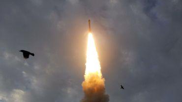 La fusée Vega a été lancée depuis Kourou