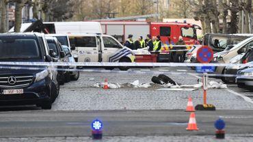 Les lieux de l'explosion dans la De Pretstraat