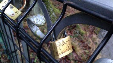 Un pont des amoureux à Spa