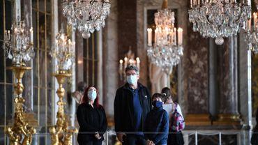 Deux tiers des visiteurs de Versailles viennent de l'étranger