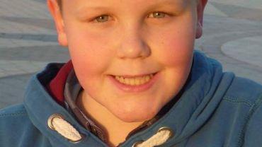 Martin 11 ans, un gamin souriant, il est aujourd'hui hors de danger.